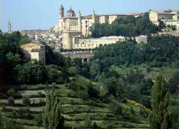 Urbino from a Distance